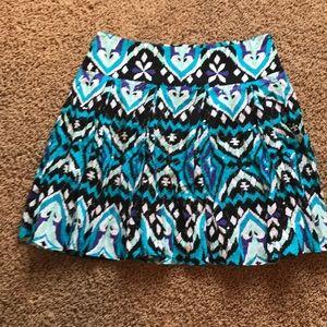 INC 100% cotton skirt. Pretty!
